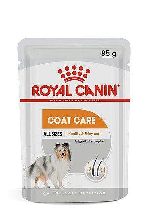 Ração Úmida Royal Canin Sache para Cães Adultos de Todas as Raças Coat Care 85g