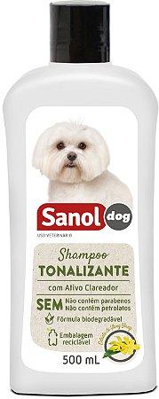 Shampoo Sanol Tonalizante para Cães 500ml