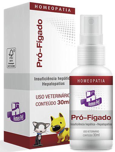 Homeopet Pro-Fígado Tratamento Insuficiência Hepática 30ml