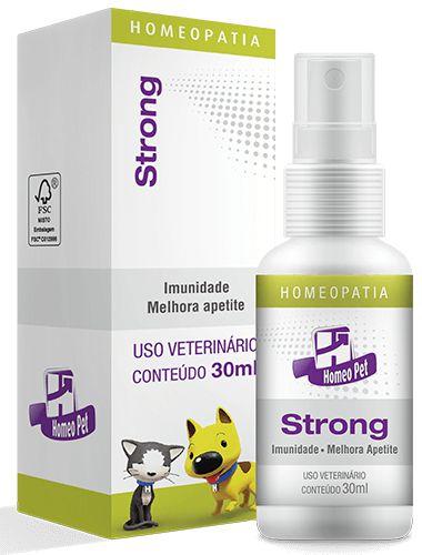 Homeopet Strong Estimular a Imunidade em Cães e Gatos 30ml