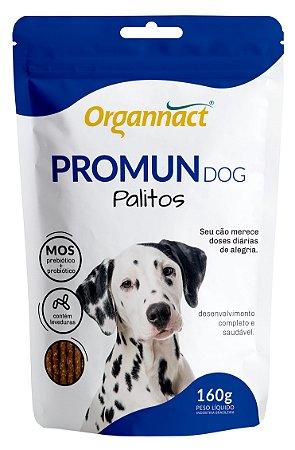 Suplemento Organnact Palitos Promun Dog 160g