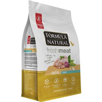 Fórmula Natural Fresh Meat Gatos Adultos Light Sabor Frango