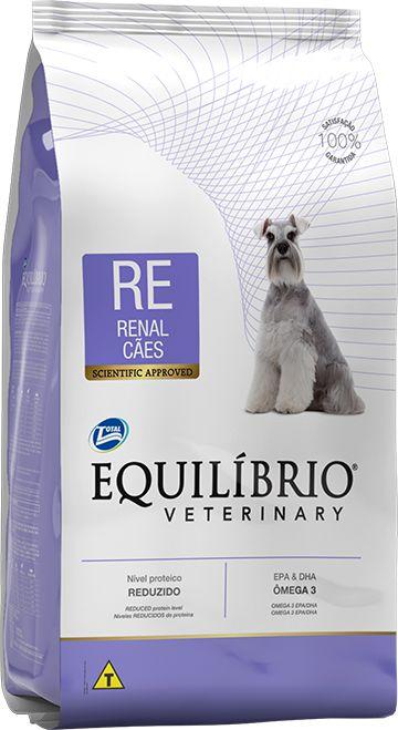 Ração Equilíbrio Veterinary Cães Renal