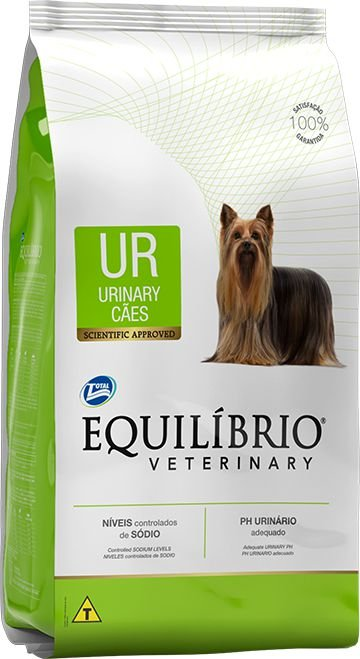 Ração Equilíbrio Veterinary Cães Urinary