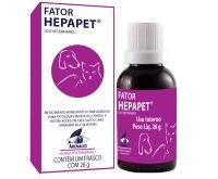 Fator Hepapet Complementar para Patologias Hepáticas, Cães e Gatos 26g