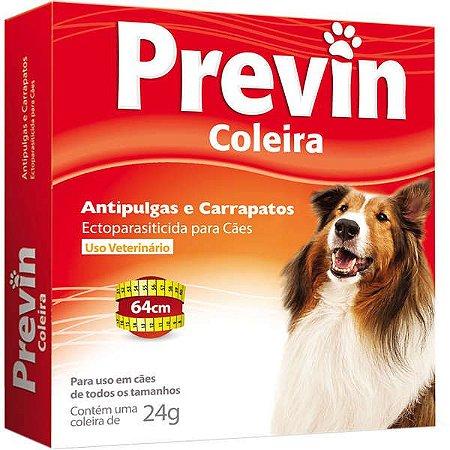 Previn Coleira Cao Antipulga Carrapatos 24gr