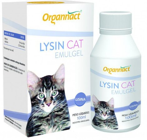 Cat Lysin Emulgel Suplemento Vitamínico 100g
