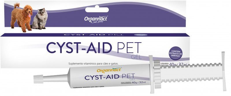 Cyst Aid Pet Gel Suplemento Vitamínico 35g
