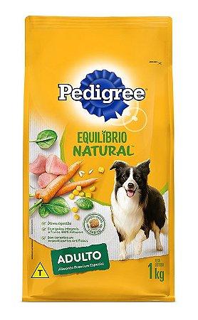 Ração Pedigree Equilibrio Natural para Cães Adultos Raças Médias e Grandes