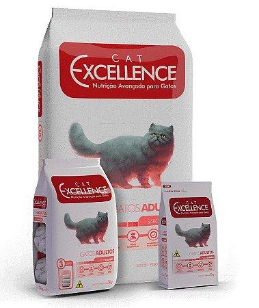 Ração Excellence Cat Adulto Castrados Sabor Carne