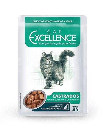 Excellence Sachê Cat Castrados 85g