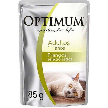Optimum Cat Sachê Adulto Frango 85g