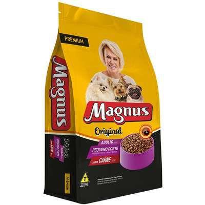 Ração Magnus Todo Dia Sabor Carne para Cães Adultos Porte Pequeno