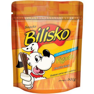 Bilisko Petisco para Cães Palito Fino Fígado