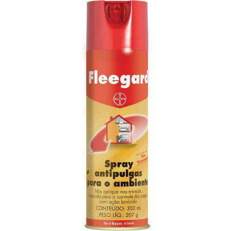 Spray Bayer Antipulgas para Ambientes Fleegard - 300 mL