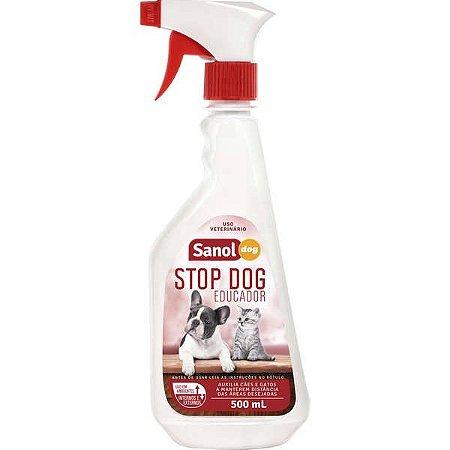 Educador Sanol Stop Dog para Cães e Gatos - 500 mL