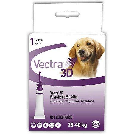 Antipulgas e Carrapatos Ceva Vectra 3D para Cães de 25 a 40 Kg