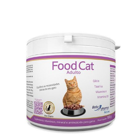Suplemento Alimentar Food Cat Adulto