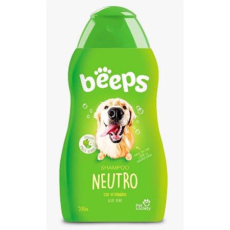 Shampoo Pet Society Beeps Neutro 500ml