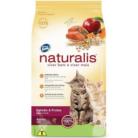 Naturalis Gato Adulto Salmão e Frutas