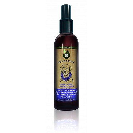 Pet Lab Banho a Seco Spray Lavanda 240ml