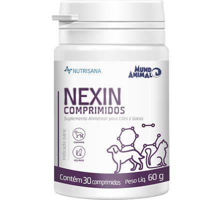 Suplemento Alimentar Nutrisana Nexin 30 Comprimidos para Cães e Gatos