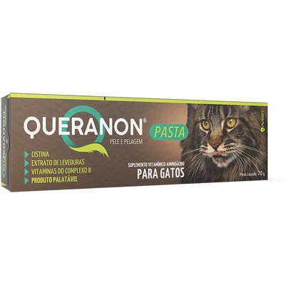 Suplemento Vitamínico-Aminoácido  Queranon Pasta para Gatos