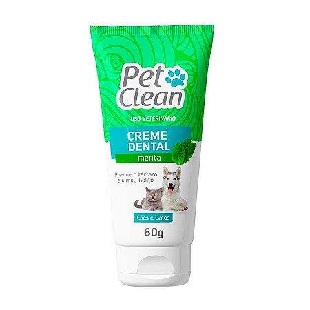 Pet Clean Creme Dental Menta 60g