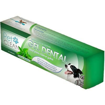 Pet Clean Gel Dental Menta 60g