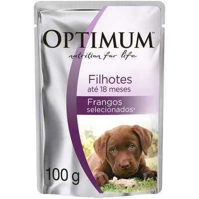 Optimum Dog Sachê Filhote 100g