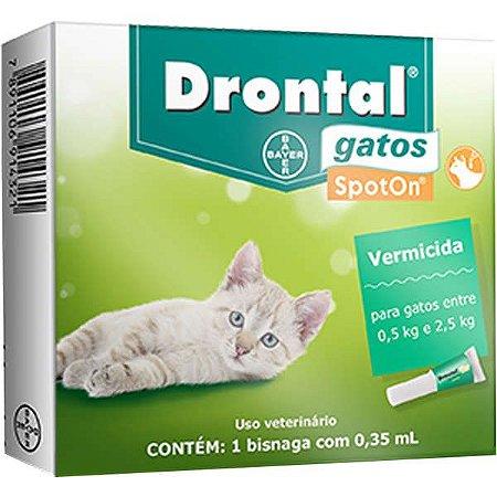 Drontal Gatos Até 2,5 kg 0.35 ml