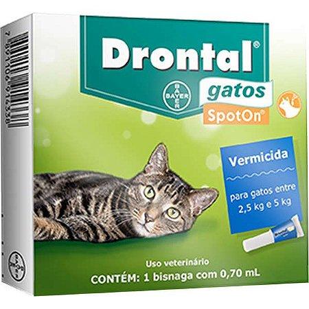 Drontal Gatos 2,5 a 5 kg 0.70 ml