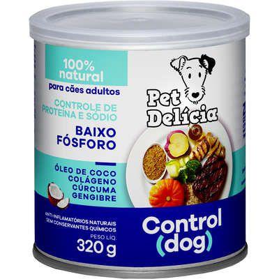 Ração Úmida Pet Delícia  Natural Control Para Cães 320g