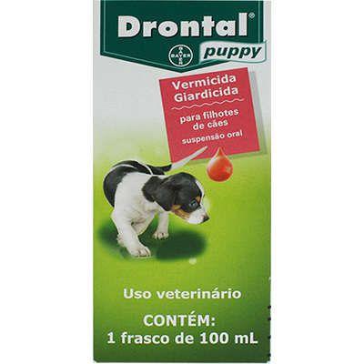Drontal Suspensão Puppy 100ml Bayer