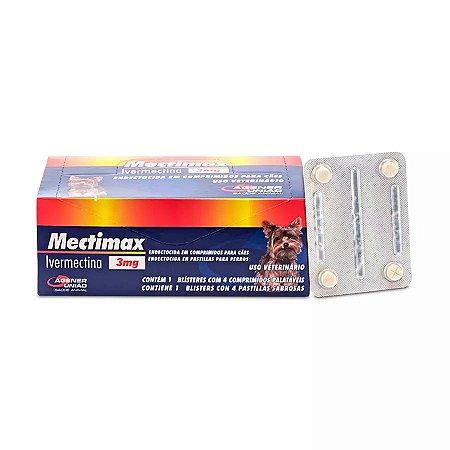 Mectimax 4 Comprimidos