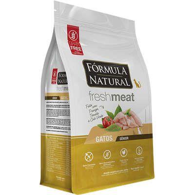 Fórmula Natural Fresh Meat Gatos Adultos Sênior Sabor Frango