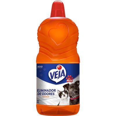 Veja Pets Eliminador Odores Citrus 2L