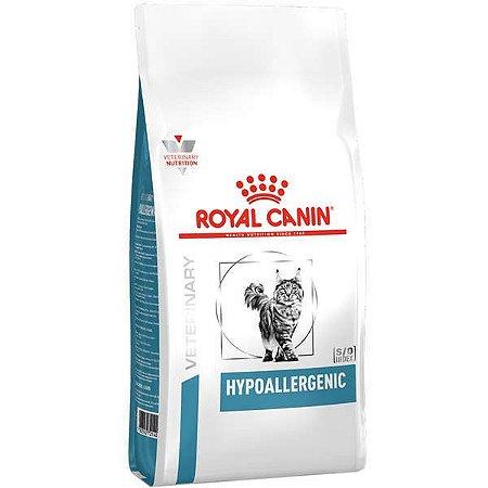 Ração Royal Canin Veterinary Diet para Gatos Alérgicos Hypoallergenic Feline 4kg