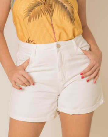 Short Mom Jeans Color