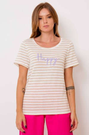 T-shirt Happy Listrada