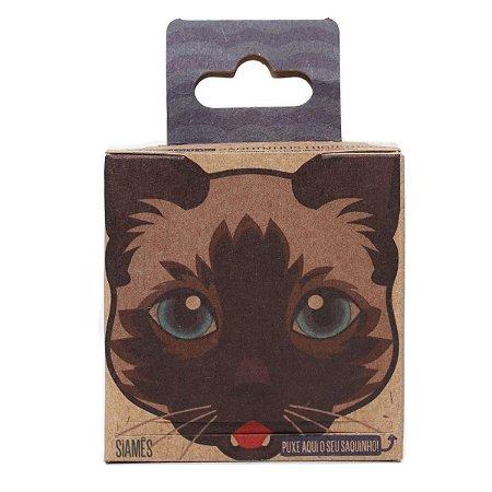 Kit Cat Siamês 2 Rolinhos de Saquinhos Biodegradáveis Cata Caca Refil