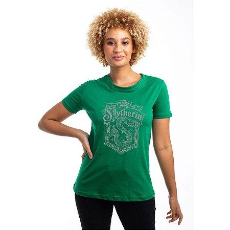 Camiseta Baby Look Brasão Sonserina