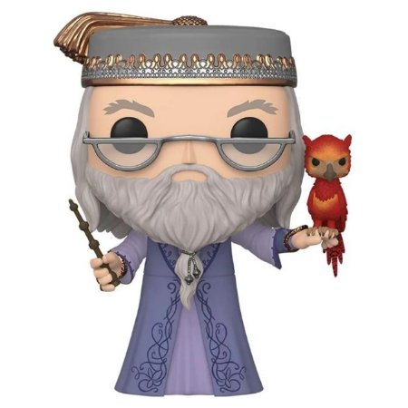 Funko Dumbledore with Fawkes Super Sized
