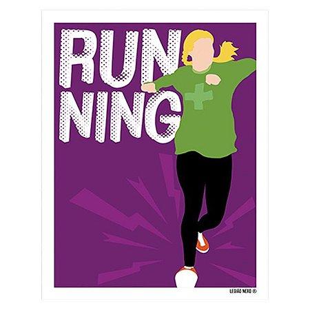 Placa Decorativa Running
