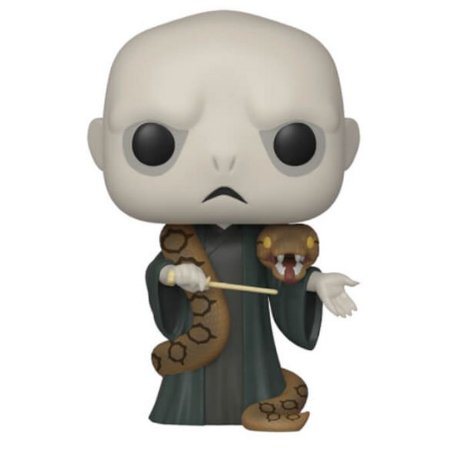Funko Pop Lord Voldemort e Nagini - Exclusivo