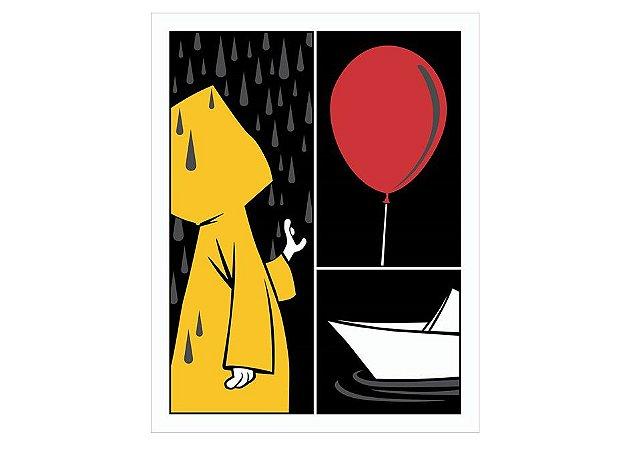 Placa Balão Vermelho IT