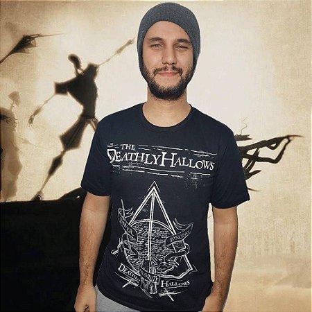 Camiseta Relíquias da Morte