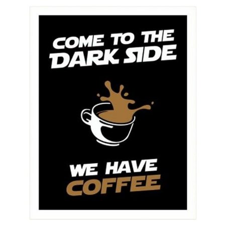 Placa We Have Coffee