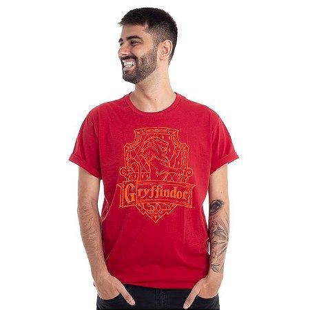 Camiseta Brasão Grifinória