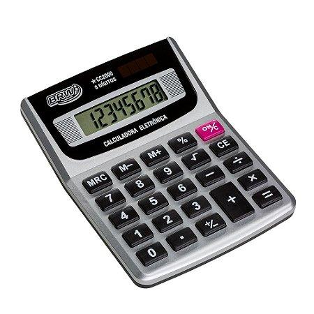 Calculadora Pequena 8 Dígitos CC2000 BRW
